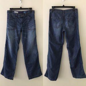 ANTHROPOLOGIE // PILCRO Carpenter Wide Leg Jeans